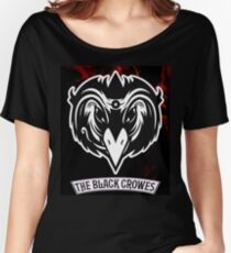MANUK2 THE BLACK CROWES  Women's Relaxed Fit T-Shirt