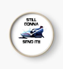Still Gonna Send It Larry Enticer Meme Tee Shirt Clock