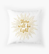 Light | Next to Normal Throw Pillow