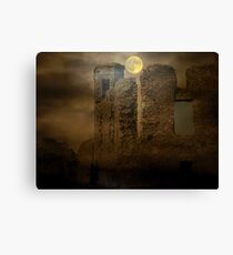Come Fast And Sure - The Hill of Slaine Canvas Print