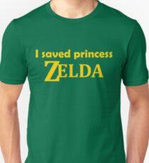 I saved Princess Zelda Unisex T-Shirt
