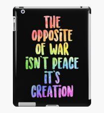 Es ist Schöpfung!   MIETE iPad-Hülle & Klebefolie