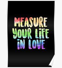 Messen Sie Ihr Leben in der Liebe | Miete Poster