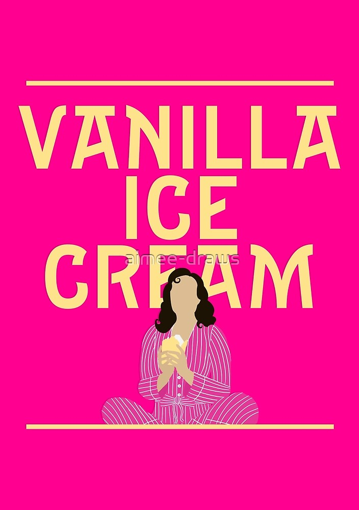Vanilla Ice Cream | She Loves Me by aimee-draws
