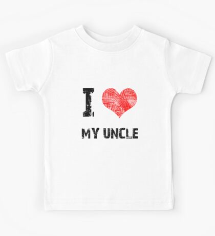 I Love My Uncle Kids Clothes