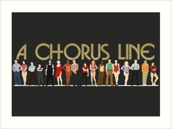 Eine Chorus-Linie von aimee-draws