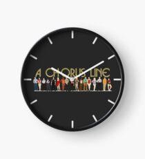 A Chorus Line Clock