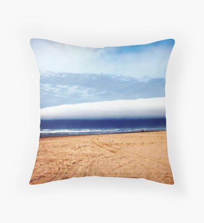 Cape Foul Weather! Throw Pillow