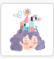 Girly Planet, constructions Sticker