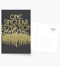 Postales Una Sensación Singular   Una línea de coro