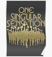 Eine Singular Sensation | Eine Chorus-Linie Poster