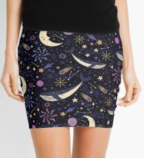 Sea Space  Mini Skirt