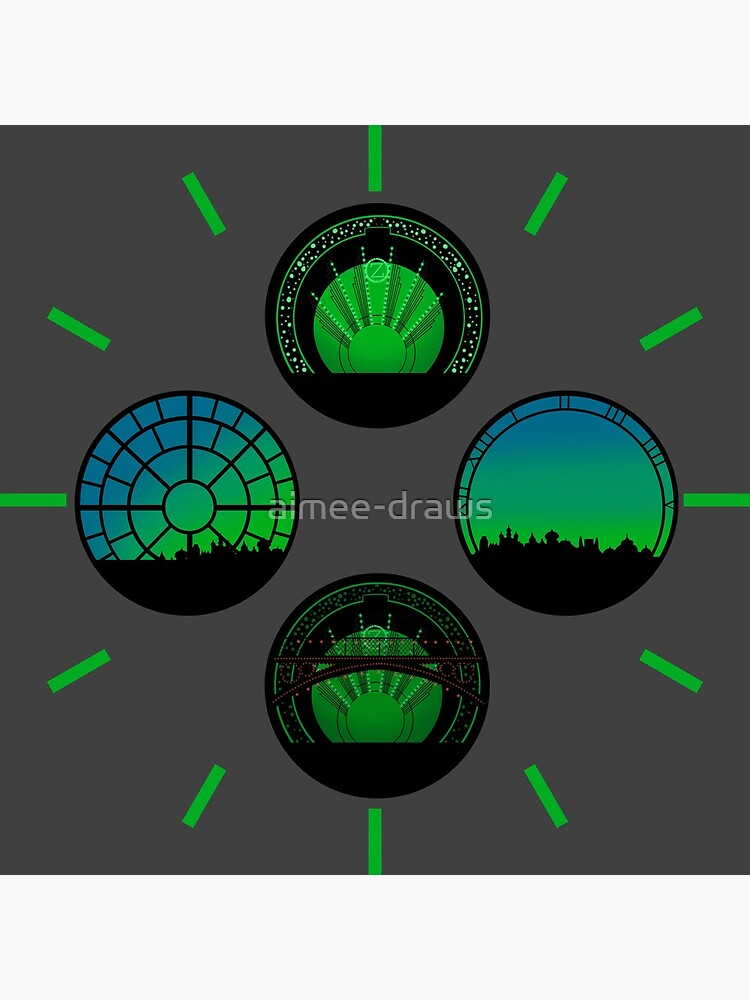 Wicked | Set Circles by aimee-draws