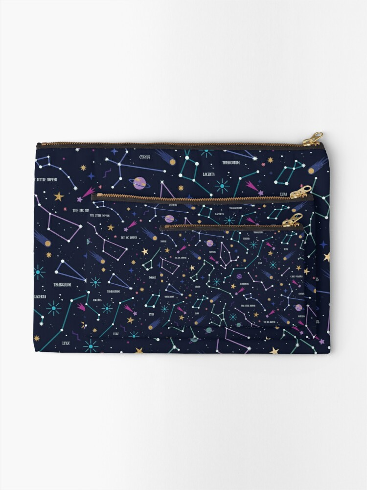Alternate view of The Stars  Zipper Pouch