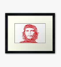 Che Guevara Red | Icons Framed Print