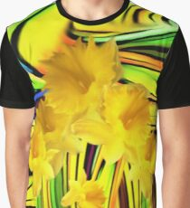 Daffodils Gone Wild Graphic T-Shirt