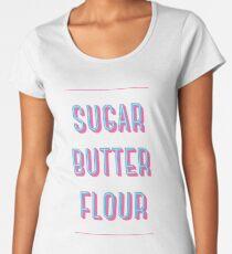 Sugar Butter Flour | Waitress Women's Premium T-Shirt