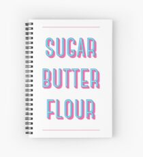 Zucker Buttermehl | Kellnerin Spiralblock