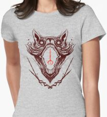 The Hunt Red Womens Fitted T-Shirt