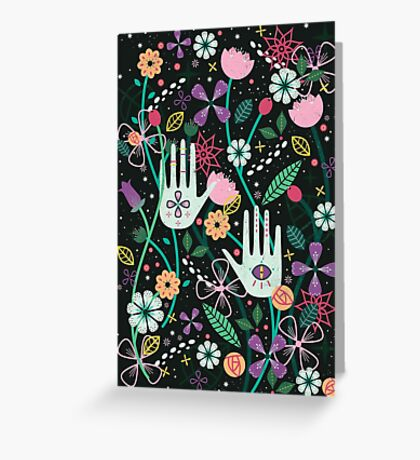 Botanical Hands  Greeting Card