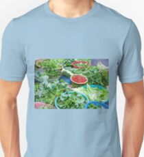 Vegetable market in Hoi An Unisex T-Shirt