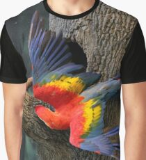 Parrot Wings Graphic T-Shirt