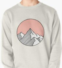 Mountains Sketch Pullover