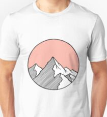 Mountains Sketch T-Shirt