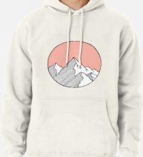 Mountains Sketch Pullover Hoodie
