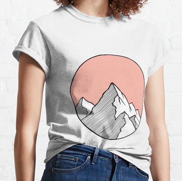 Mountains Sketch Classic T-Shirt