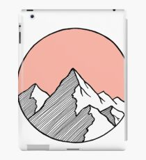 Mountains Sketch iPad Case/Skin