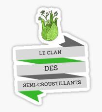 The Semi-Crunchy Clan, Kaamelott Sticker