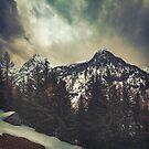 Alpine Twin Peaks by Dirk Wuestenhagen