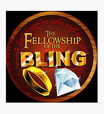 The Fellowship of the Bling Photographic Print