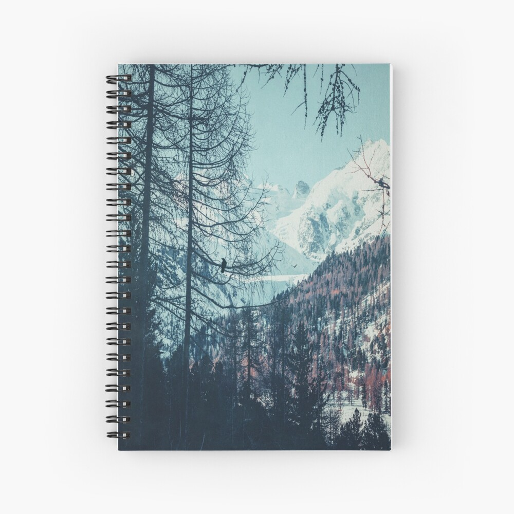 Please Come Back Spiral Notebook