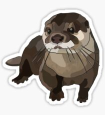 Loutre significative Sticker