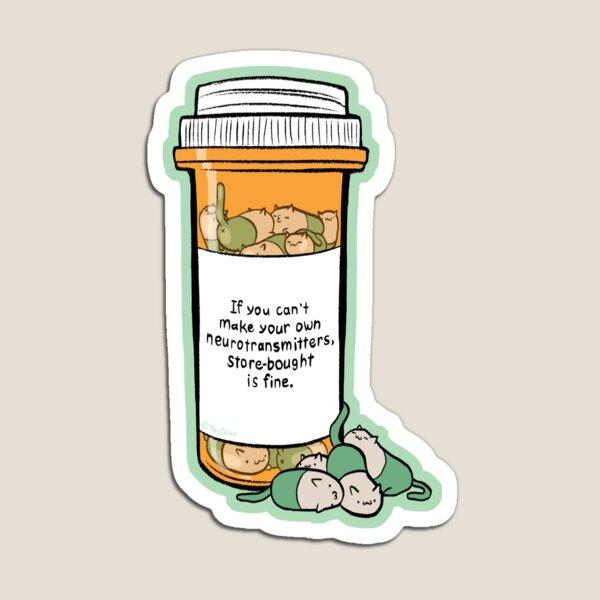 Purrozac Perscription Magnet