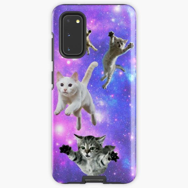 Cats in Space!  Samsung Galaxy Tough Case