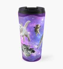 Cats in Space!  Travel Mug