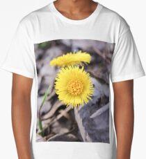 Spring wild flowers. Long T-Shirt