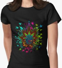 Plant Medicine Womens Fitted T-Shirt