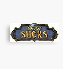 Warcraft Parody Canvas Print