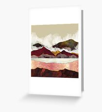 Melon Mountains Greeting Card