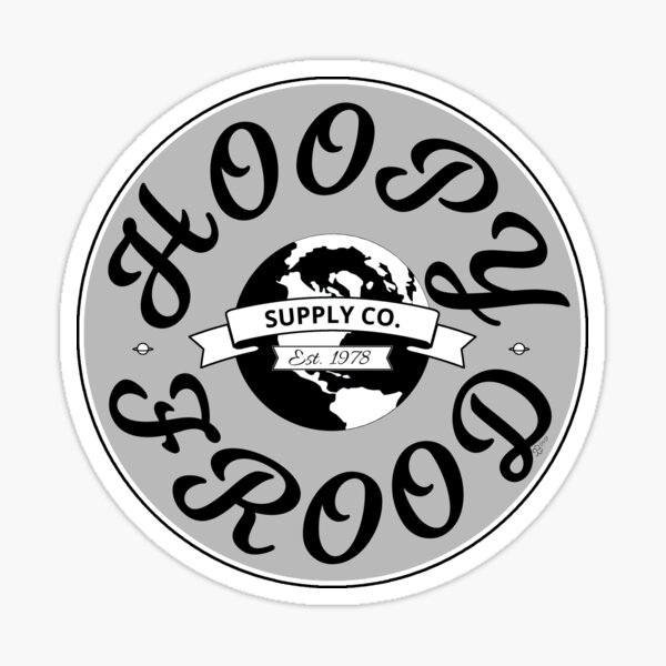 Hitchhiker's Guide Hoopy Frood Towel Supply Co. by WIPjenni Sticker