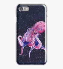 Giant Pacific Octopus in Space iPhone Case/Skin