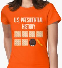 US President History anti-trump Womens Fitted T-Shirt