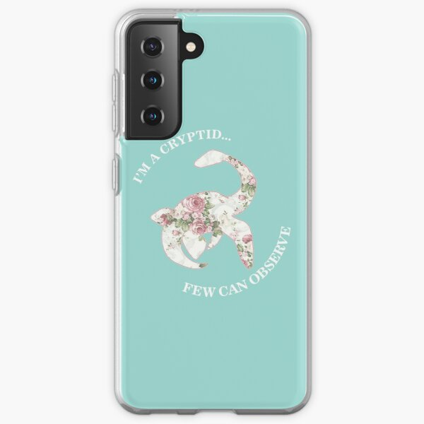 I'm A Cryptid Few Can Observe- Loch Ness Monster Samsung Galaxy Soft Case