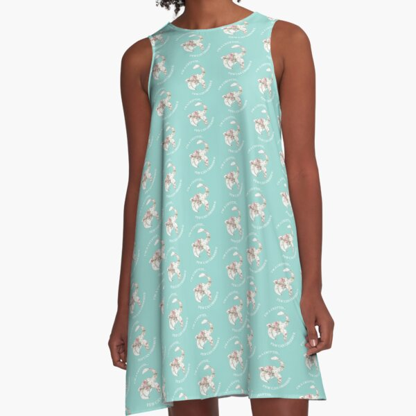 I'm A Cryptid Few Can Observe- Loch Ness Monster A-Line Dress