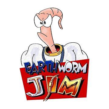 Earthworm Jim by yoshisaredragon