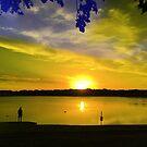 Windwood Lake Sunset by paulscar